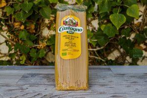 Pasta Spaguetti Trigo Blanco Castagno 500gr