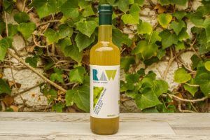 Vinagre de vino blanco Raw 500ml