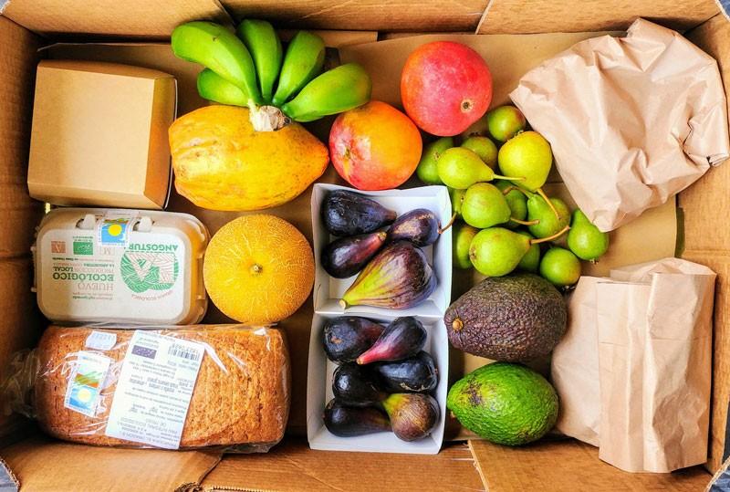 caja de frutas y verduras ecologicas