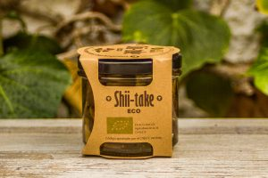 Shiitake confitada en Aceite de Oliva Virgen Extra 105gr