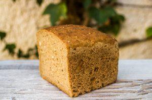 Pan de maíz y trigo sarraceno sin gluten Panadería el Dragón 450g