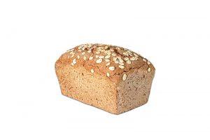 Pan de molde de centeno 500g Panadería Tarei