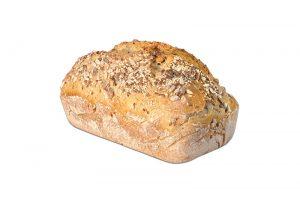 Pan de molde de trigo y centeno con semillas 1Kg Panadería Tarei
