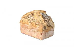 Pan de molde de trigo y centeno con semillas 500g Panadería Tarei