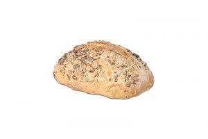 Pan hogaza de trigo y centeno con semillas 500g Panadería Tarei
