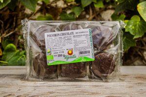 Polvorones de chocolate y espelta Vegetalia 12 unidades